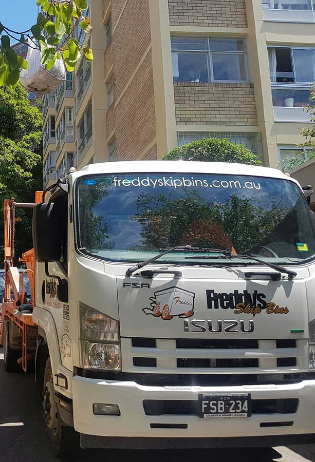 Freddys Skip Bins Pickup at Burwood NSW 2134