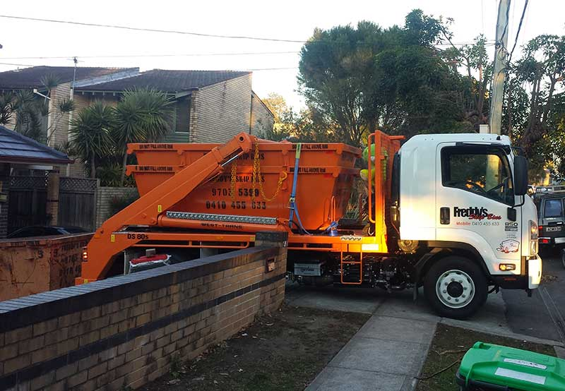 Delivering waste management services to Burwood Road