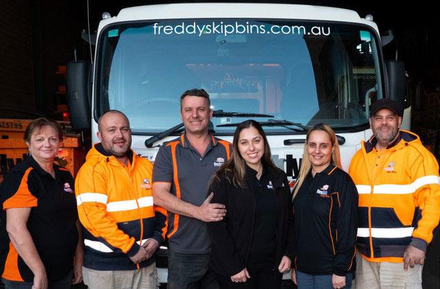 Freddys Skip Bins Team